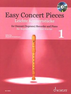 Easy Concert Pieces Vol. 1 Partition Flûte à bec - laflutedepan