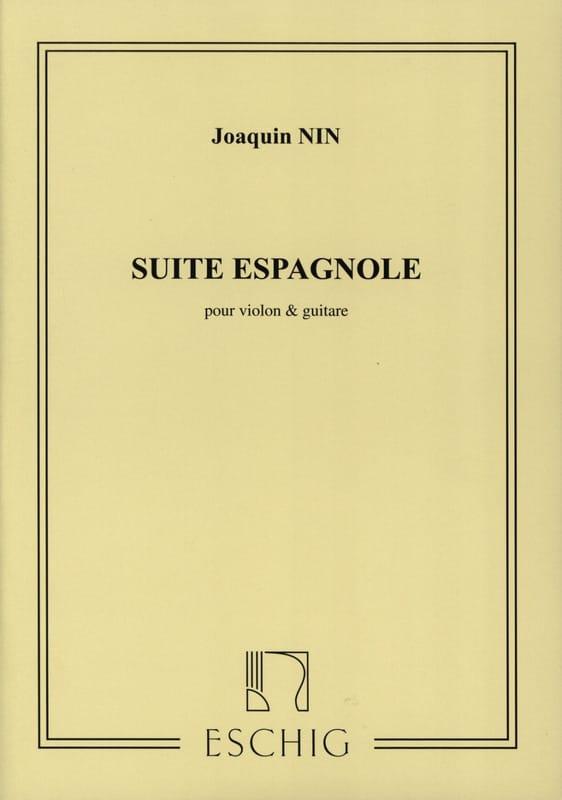 Suite espagnole - Violon guitare - Joaquin Nin - laflutedepan.com