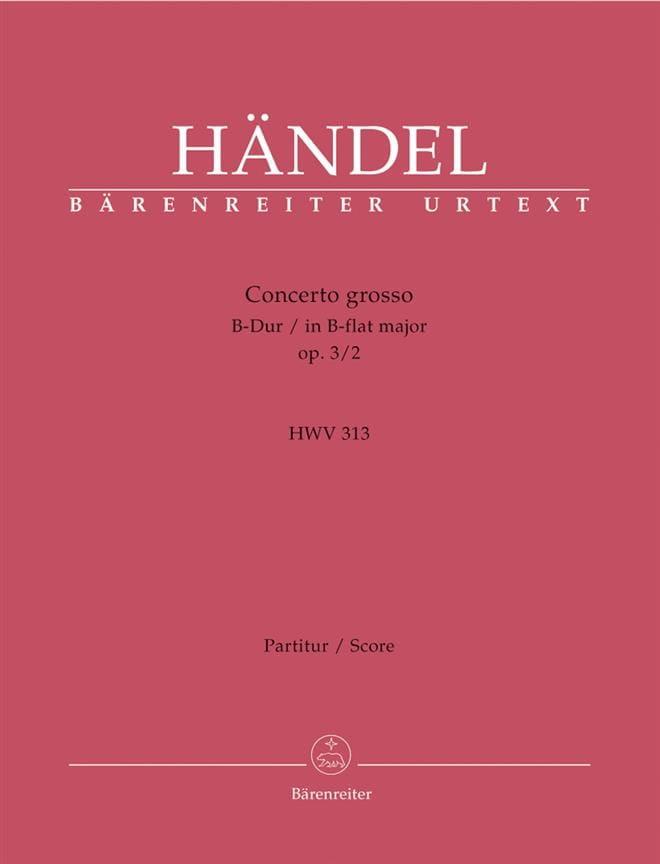 Concerto Grosso op. 3 N° 2 für 2 Violinen, 2 Violoncelli u. B.C. - laflutedepan.com