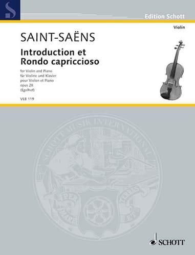 Introduction et Rondo Capriccioso Op.28 - laflutedepan.com