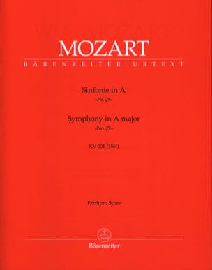 Symphonie Nr. 29 A-Dur KV 201 - Partitur MOZART laflutedepan