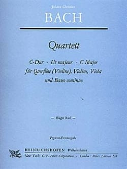 Quatuor C-Dur -Flûte Violine Viola u. BC laflutedepan
