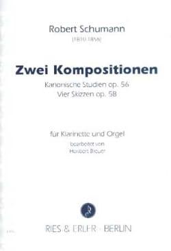 2 Compositions SCHUMANN Partition Clarinette - laflutedepan