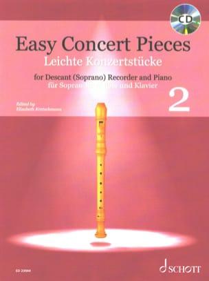 Easy Concert Pieces Vol. 2 Partition Flûte à bec - laflutedepan