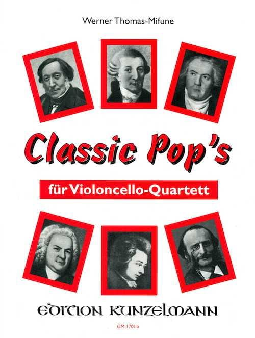 Classic Pop's - 4 Cellos - Werner Thomas-Mifune - laflutedepan.com