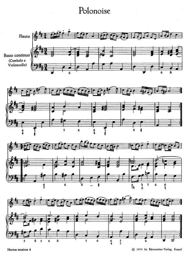 Concertino n° 2 G-Dur - Partitur - laflutedepan.com