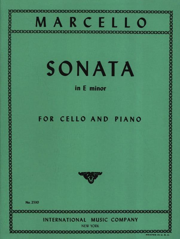 Sonate en mi mineur - Benedetto Marcello - laflutedepan.com