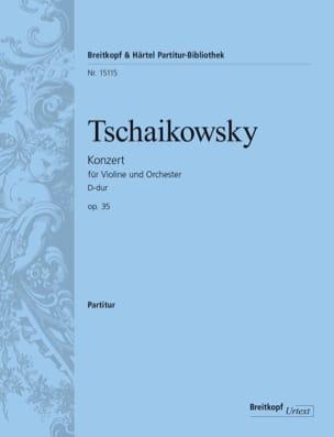 Concerto Pour Violon en Ré Majeur Opus 35 TCHAIKOVSKY laflutedepan