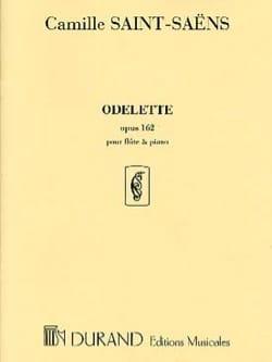 Odelette op. 162 - Flûte piano SAINT-SAËNS Partition laflutedepan