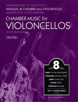Arpad Pejtsik - Chamber music for violoncellos - vol. 8 - Score parts - Partition - di-arezzo.co.uk