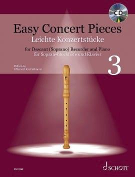 Easy Concert Pieces Vol. 3 Partition Flûte à bec - laflutedepan