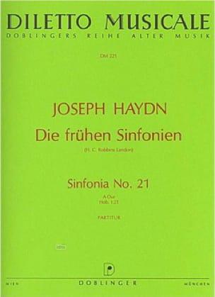 Sinfonia Nr. 21 A-Dur - HAYDN - Partition - laflutedepan.com