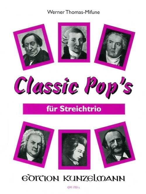 Classic Pop's - String Trio - Werner Thomas-Mifune - laflutedepan.com