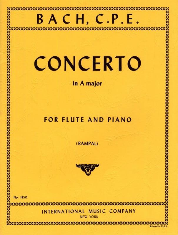 Concerto A major - Flûte piano - laflutedepan.com