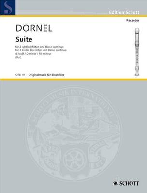Suite d-moll -2 Altblockflöten und BC Antoine Dornel laflutedepan