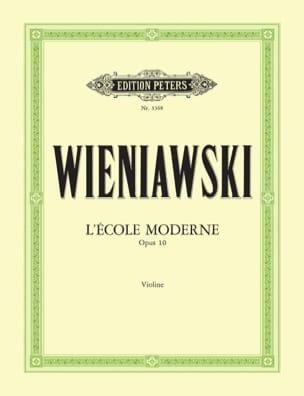 L' Ecole Moderne Op.10 WIENAWSKI Partition Violon - laflutedepan