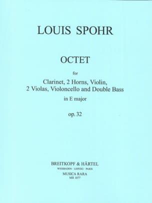 Octet In E Mi M., Op. 32 - Clarinette-2 Cors-Violon-2 Altos-Cello-Contrebasse laflutedepan