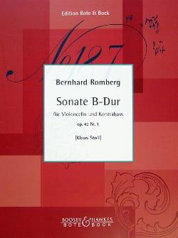 Sonate B-Dur op. 43 n° 1 - Cello Kontrabass laflutedepan