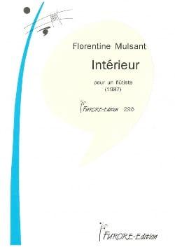 Intérieur Florentine Mulsant Partition laflutedepan