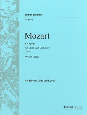 Concerto en Do Maj. - Kv 314 285d - MOZART - laflutedepan.com