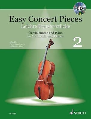 Easy Concert Pieces, Volume 2 - Violoncelle et piano laflutedepan