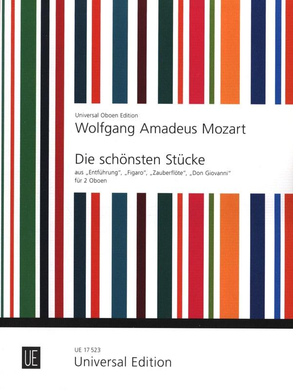 Die schönsten Stücke - 2 Oboen - MOZART - Partition - laflutedepan.com