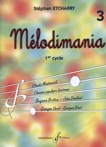 Mélodimania Volume 3 - Stéphan Etcharry - laflutedepan.com