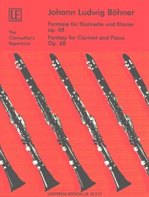 Fantasie für Klarinette und Klavier Op. 68 laflutedepan