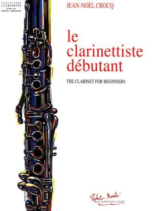 Le Clarinettiste Débutant Jean-Noël Crocq Partition laflutedepan