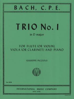 Trio n°1 D major -Flute violin viola clarinet piano laflutedepan