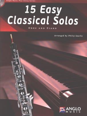 15 Easy classical solos Partition Hautbois - laflutedepan