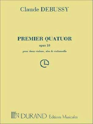 Quatuor à cordes n° 1 op. 10 - Parties DEBUSSY Partition laflutedepan