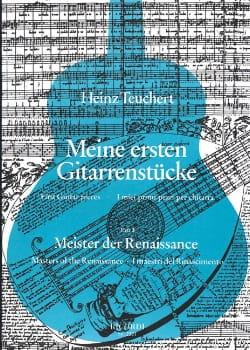 Meine Ersten Gitarrenstucke- Heft 3: Meister Der Renaissance laflutedepan