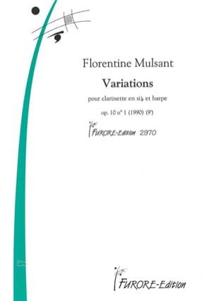 Variations Florentine Mulsant Partition Duos - laflutedepan