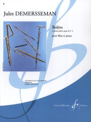 Boléro op. 2 n° 2 Jules Demersseman Partition laflutedepan