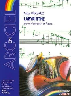Labyrinthe Max Méreaux Partition Hautbois - laflutedepan