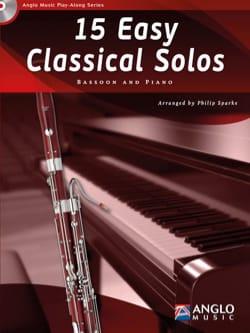 15 Easy classical solos Partition Basson - laflutedepan