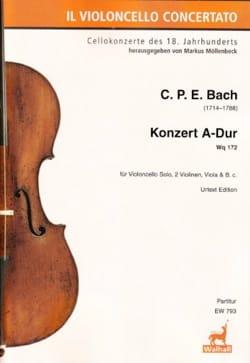 Concerto pour Violoncelle, Wq 172 - Conducteur laflutedepan
