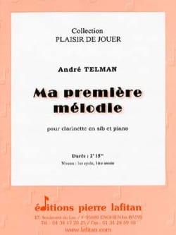 Ma Première mélodie - André Telman - Partition - laflutedepan.com
