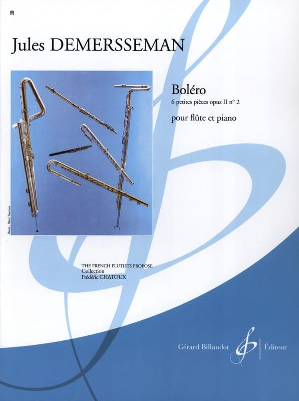 Boléro op. 2 n° 2 - Jules Demersseman - Partition - laflutedepan.com