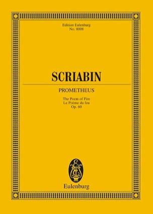 Prometheus op. 60 - Partitur SCRIABINE Partition laflutedepan