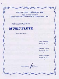 Music Flute Felix Antonini Partition Flûte traversière - laflutedepan