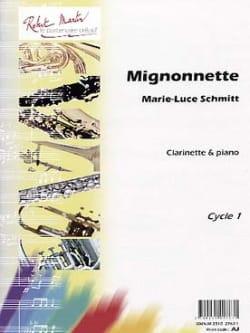Mignonnette Marie-Luce Schmitt Partition Clarinette - laflutedepan