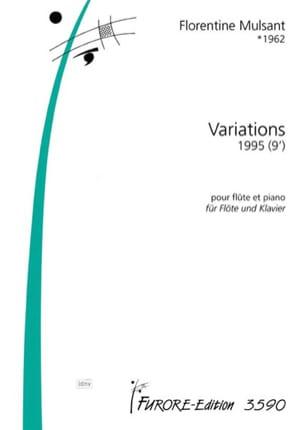 Variations Florentine Mulsant Partition laflutedepan