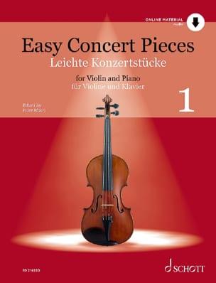 Easy Concert Pieces - Partition Violon - laflutedepan