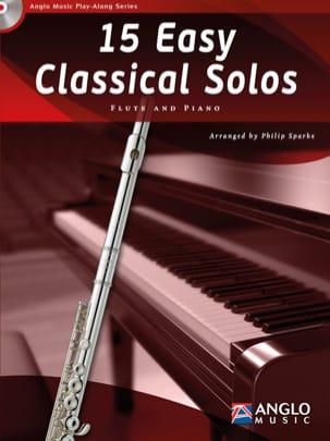 15 Easy classical solos - Partition - laflutedepan.com