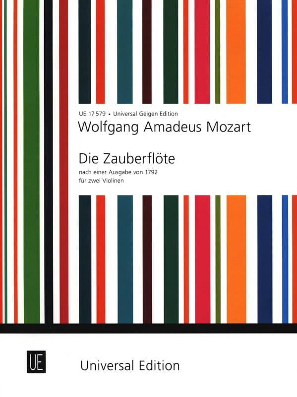 Die Zauberflöte für 2 Violinen - MOZART - Partition - laflutedepan.com