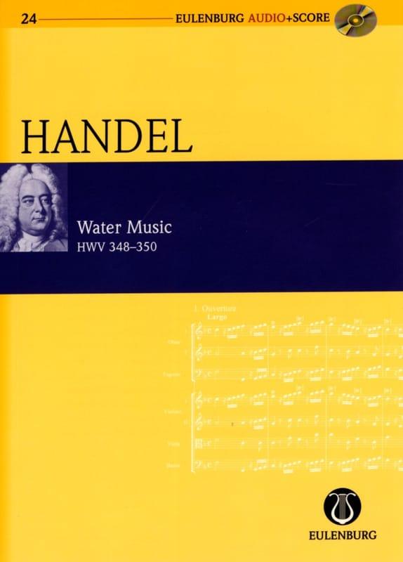 Water Music Hwv 348-350 partition et CD - HAENDEL - laflutedepan.com