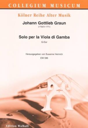 Solo per la Viola di Gamba - Viole de Gambe et Basse continue - laflutedepan.com
