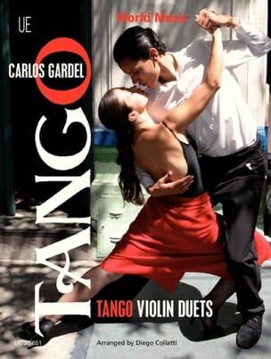 Tango Violin Duets Carlos Gardel Partition Violon - laflutedepan